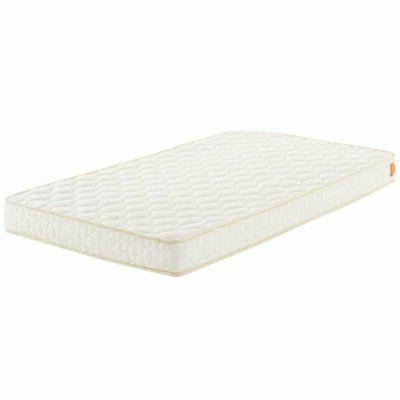 6 twin memory foam mattress in white