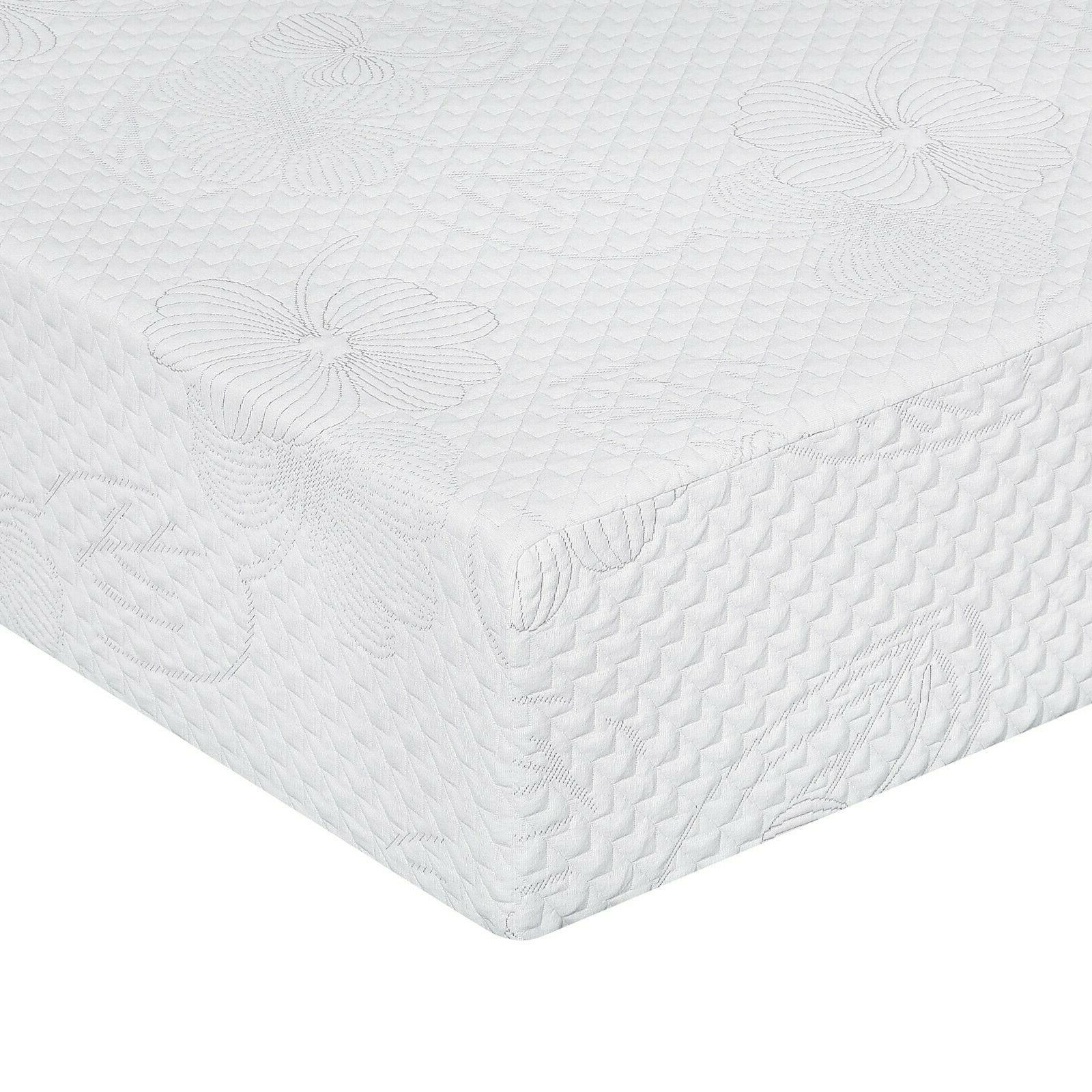 SLEEPLACE 8 I Gel Memory Foam Mattress, Bed, Four Sizes