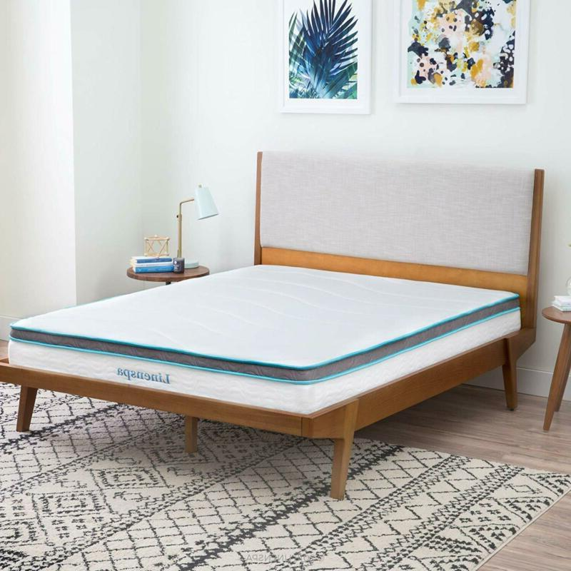 LINENSPA 8 Foam and Innerspring Mattress -