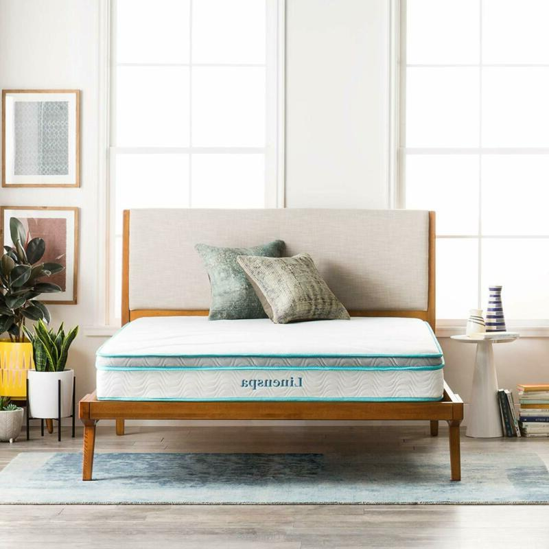 LINENSPA 8 Foam Hybrid Mattress - Twin XL