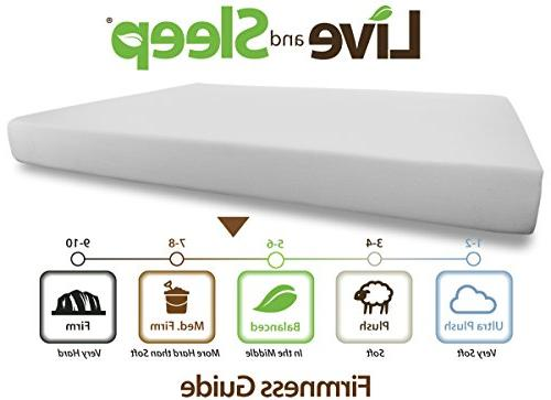 Live Sleep Queen Mattress Cool Bed Box - - Includes Pillow - Certified