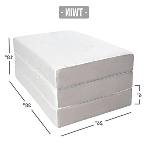 Milliard TWIN Foam Tri-fold Ultra with Non-Slip Twin