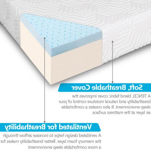 New Queen Traditional Foam Mattress with 2