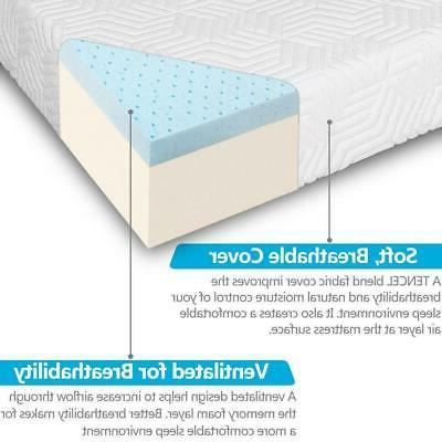 """New 10"""" Traditional Firm Memory Foam Bed 2"""