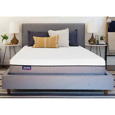 Simmons Beautysleep 8 King Memory Foam Mattress In A Box