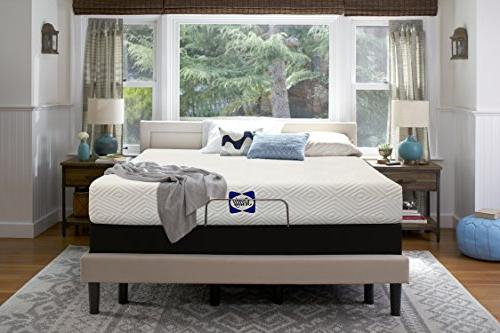 Sealy 8-Inch, Mattress in Adaptive Layers, Feel,