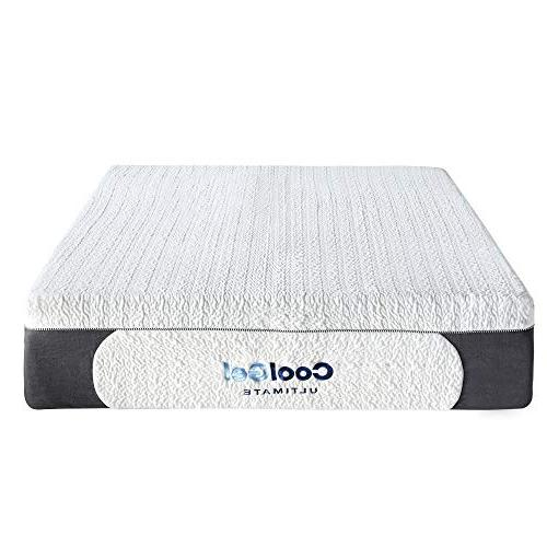 Classic Brands Cool 1.0 Gel Memory Foam BONUS Pillows, King