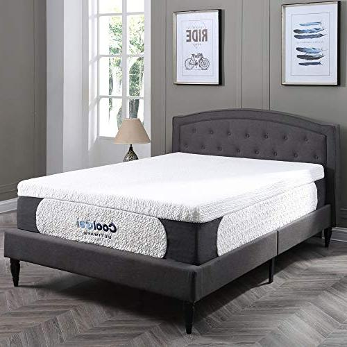 Classic Brands 1.0 Ultimate Gel Foam 14-Inch Mattress with BONUS King