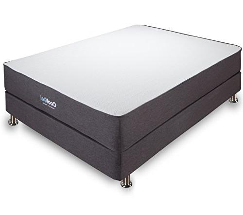 "Cool Gel 10.5"" Ventilated Gel Memory Foam Mattress, Multiple"