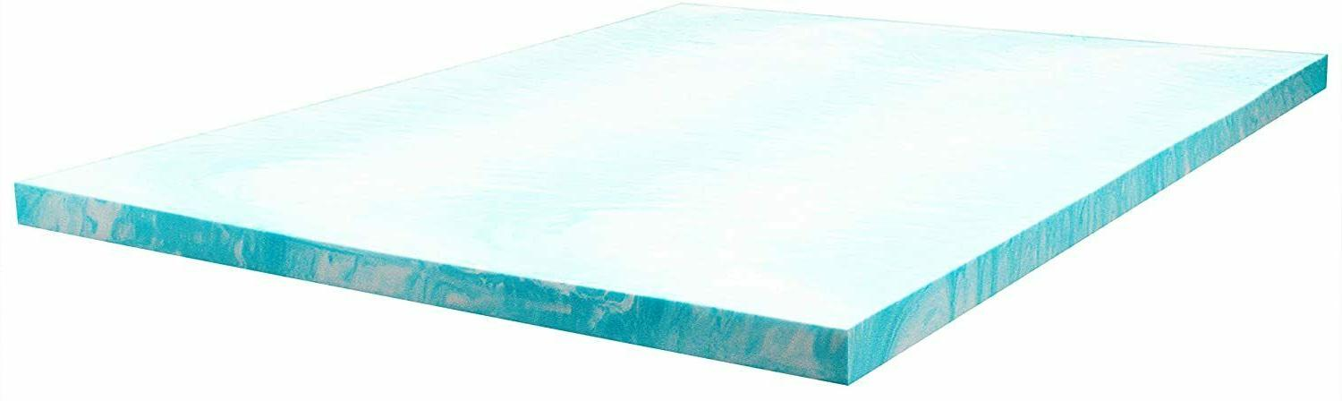 Sealy Essentials 3-Inch Memory Foam Topper, Queen