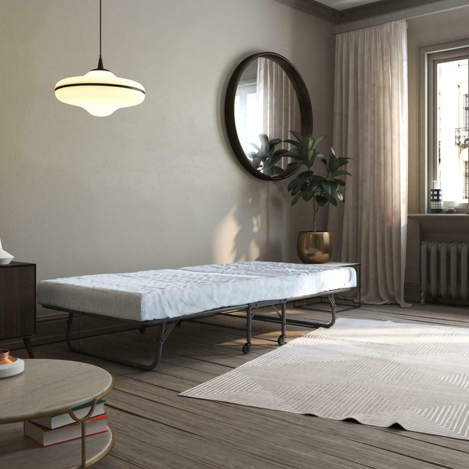 Folding Twin Bed Frame with