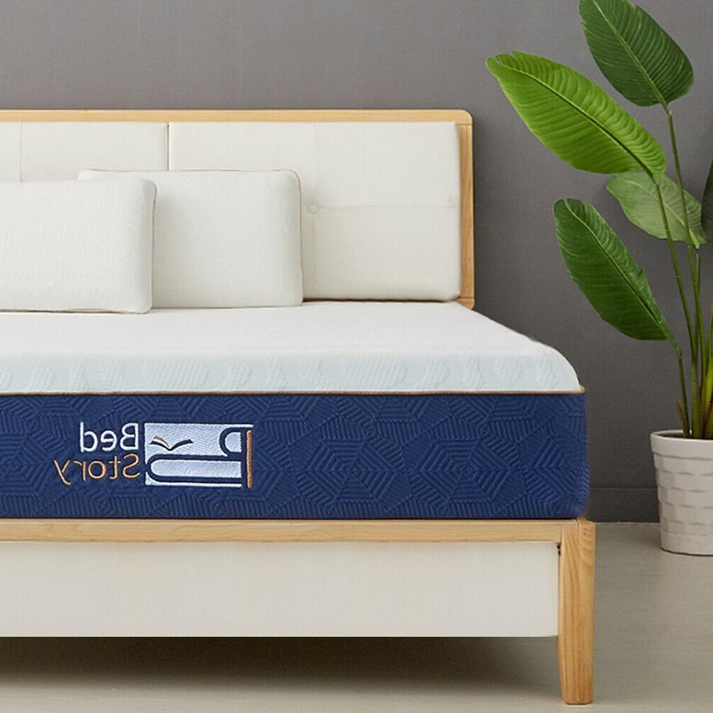 BedStory Gel Mattress QUEEN KING CK In A Box