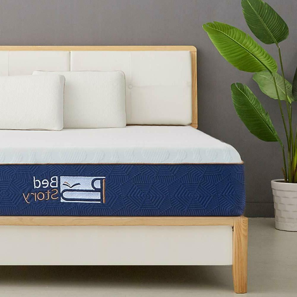 BedStory Gel Mattress TWIN QUEEN In Box