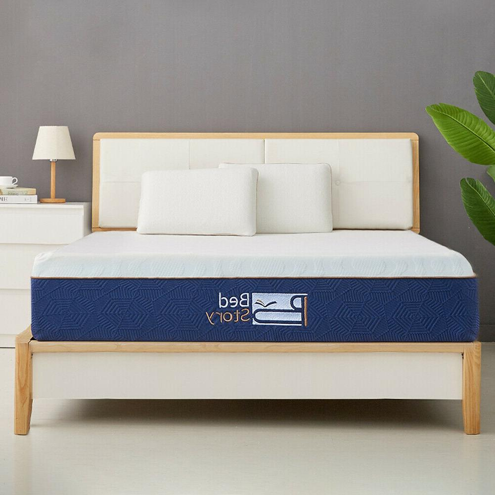 BedStory Gel Mattress CertiPUR-US FULL QUEEN CK