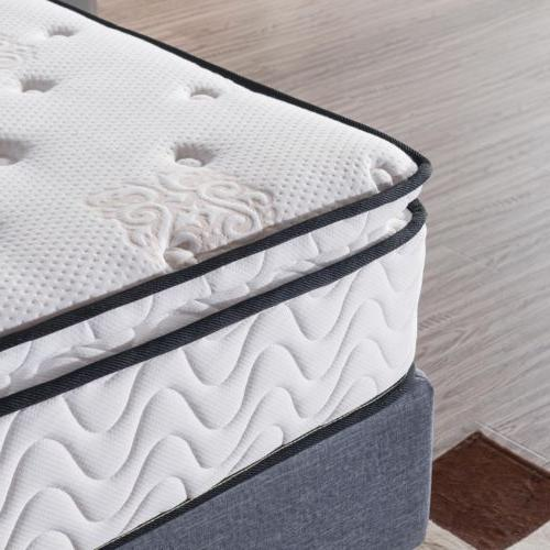 Innerspring Twin Pillow Top Inch CFR 1633 Foam
