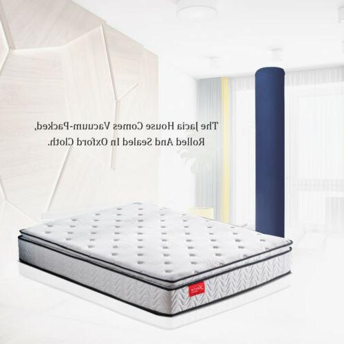 Memory Foam Mattress Bed Box 10.5 Innerspring Mattress