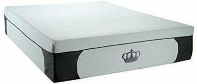 New! 14.5-Inch CoolBreeze Plush Gel Memory Foam Mattress w/F