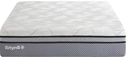Broyhill Oxford Cooling Gel Memory Innerspring Mattress with IceLux Cover, 13""
