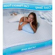 "QUEEN Gel - Spa Sensations 8"" MyGel Memory Foam Mattress"