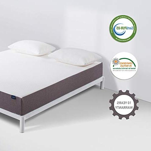 Queen Mattress, Molblly Inch Foam in a Bed Mattress with Certified Sleep Supportive 10-Year Warranty, Queen