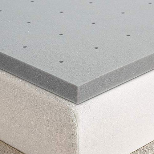 Best Mattress Topper - Inch Bamboo Charcoal Infused Memory Foam Cooling Mattress Queen Size