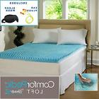 Beautyrest 3-inch Sculpted Gel Memory Foam Mattress Topper S
