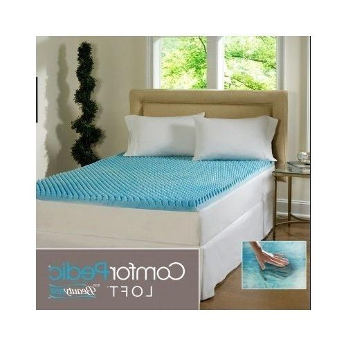 sculpted gel memory foam mattress