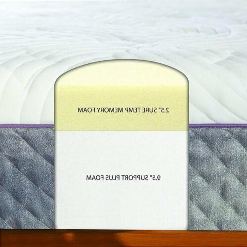 Sleep 12-inch Memory Foam with Quilted