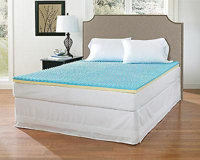 supreme 2 convoluted gel memory foam mattress