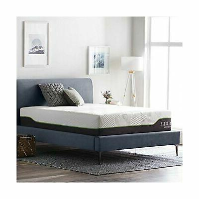 LUCID Memory Foam Latex Layer Steel Coils Firm - Temperature Neutral