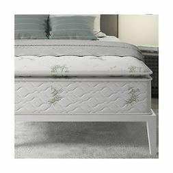 Mattress Foam Bamboo Ticking Full Size Absorbs Comfort Unpar
