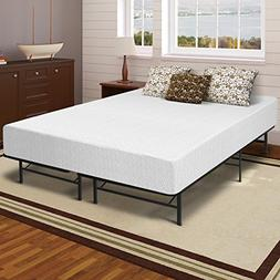 "Best Price Mattress 12"" Memory Foam Mattress and Bed Frame S"