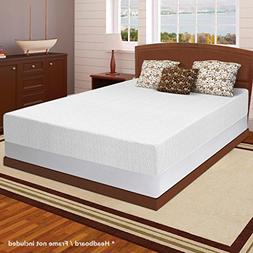 "Best Price Mattress 12"" Memory Foam Mattress & 7.5"" New Inno"