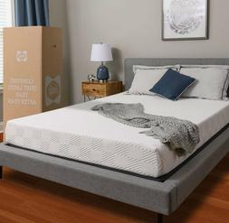 Memory Foam Mattress Bedroom Home Furniture Bed Sleep Rest F