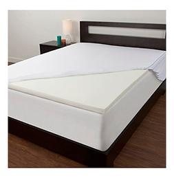 "Comfort Revolution® 1.5"" Memory Foam Mattress Topper"