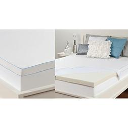 "Sealy Memory Foam Mattress Topper 3"", Cal. King"