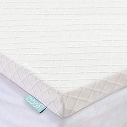 Recci 3in Memory Foam Mattress Topper Queen, Pressure-Reliev
