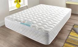 Memory Foam Quilted Sprung Mattress Single 3ft, Double 4ft6,