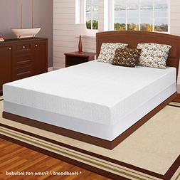 "Best Price Mattress 10"" Memory Foam Mattress & 7.5"" New Stee"