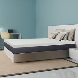 4inch Memory Foam Mattress Topper - Mattress Pad, Foam Bed,