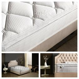 NEW Oliver Smith 12 Inch QUEEN Mattress Comfort Plush Organi