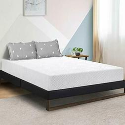 Olee Sleep 8 Inch Ventilated Convolution Memory Foam Mattres