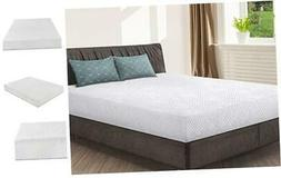 Olee Sleep 9 Inch I-gel Multi Layered Memory Foam Matress 09