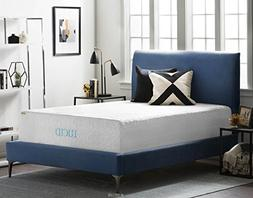 16 Natural Latex and Memory Foam Mattress by LUCID Full