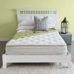 Priage by Zinus Pillow Top 10 inch iCoil Spring Mattress