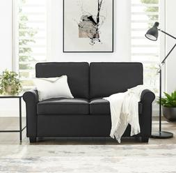 Pull Out Couch Sofa Sleeper Loveseat With Memory Foam Mattre