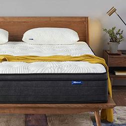 Sweetnight Queen Mattress in a Box - 12 Inch Plush Pillow To