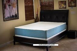 QUEEN OPTIMUM ONE SLEEP MODEL GEL MEMORY FOAM MATTRESS BY AL