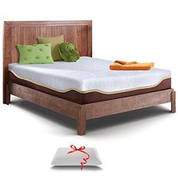 Resort Sleep Elite Full 10-Inch Gel Memory Foam Mattress and