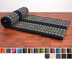 Leewadee Roll Up Thai Mattress, 79x30x2 inches, Kapok Fabric